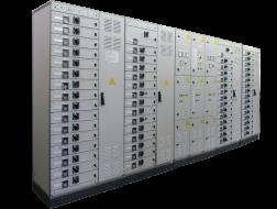 щит станций управления с выкатными модулями